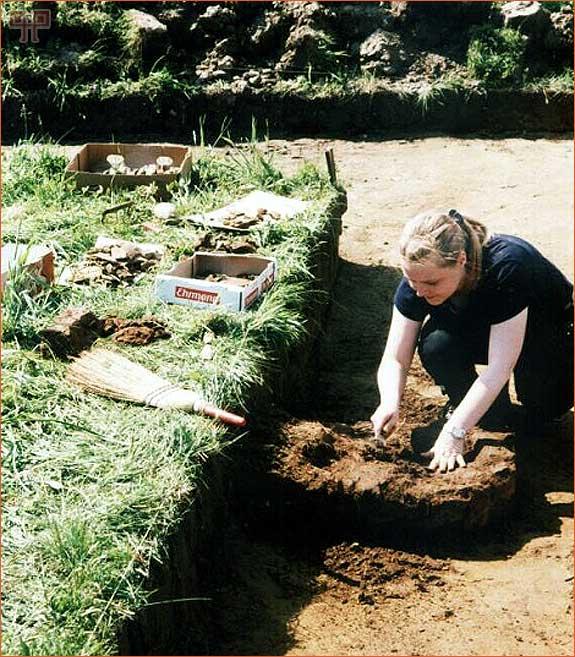 Arheološka istraživanja u Sv. Martinu na Muri (Arhiv MMČ)