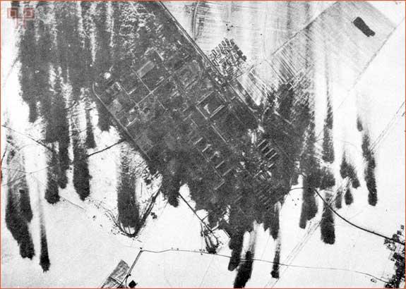Bombardirano područje Regensburg-Obertraubling