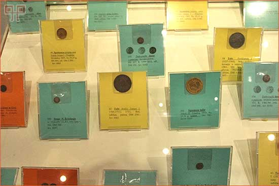 Među najvrijednijim eksponatima su kovanice izrađene u Hrvatskoj, primjerice groš bana Pavla Šubića iz 13. stoljeća ili novac kovan u Dubrovačkoj republici, koji je bio konvertibilan i izvan Republike.
