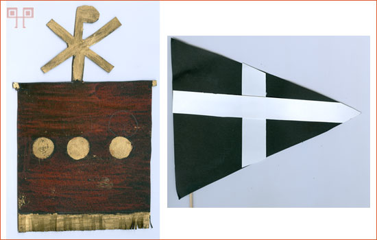 Zastavice nastale na radionicama, rad učenica OŠ Milan Brozović iz Kastva