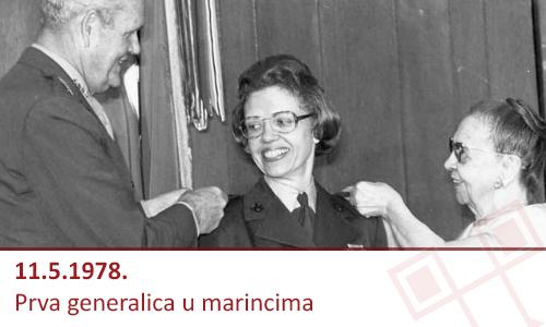 Margaret A. Brewer je prije 36 godina postala prva generalica u američkim marincima