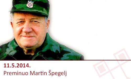 Preminuo Martin Špegelj