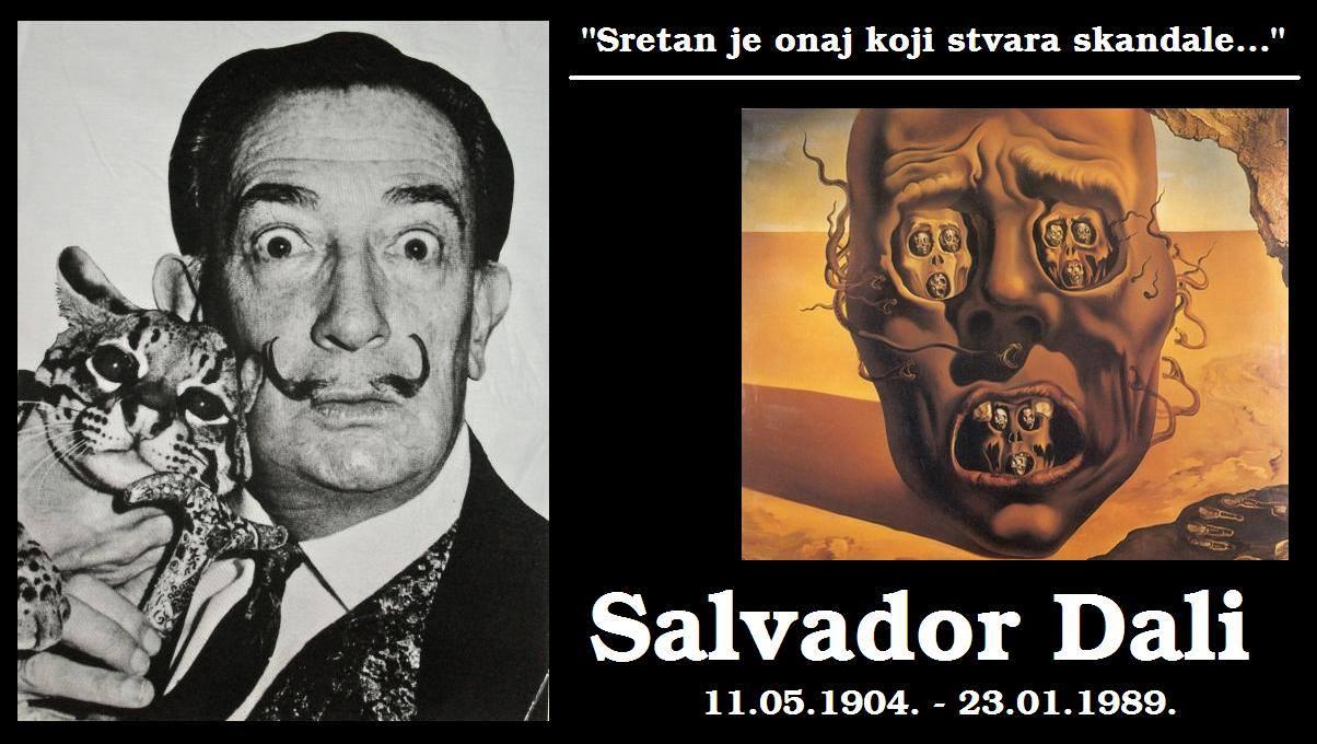 Rođen Salvador Dali