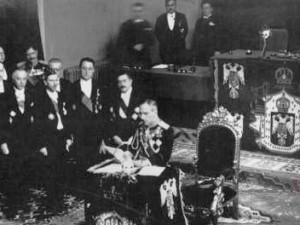 Proglašenje diktature 6. siječnja 1929. godine