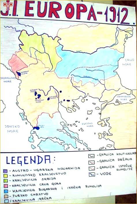 Jugoistočna Europa 1912. godine