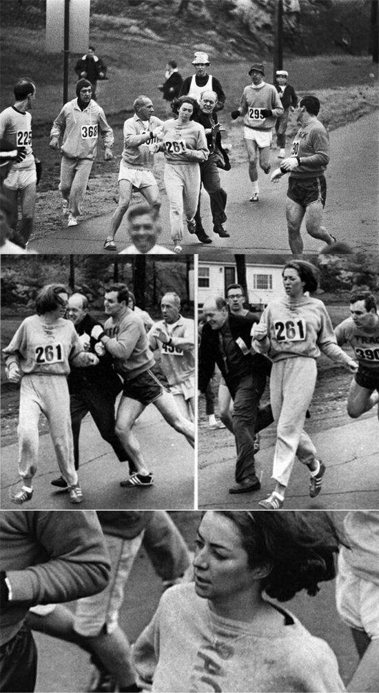 Scene pokušaja izbacivanja iz trke