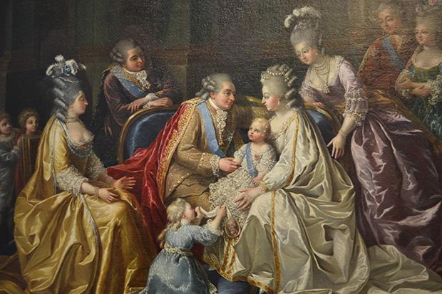 Maria i Luj s djecom