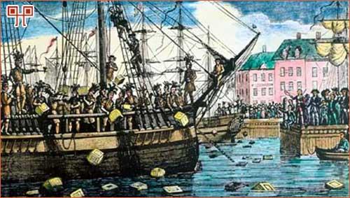 Čaj je imao veliku ulogu i u pokretanju američkog rata za neovisnost, kojemu je prethodila tzv. Bostonska čajanka