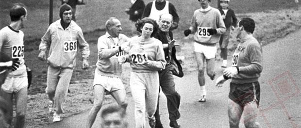 K.V. Switzer - prva žena na bostonskom maratonu
