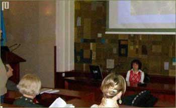 Zatim je uslijedio govor predsjednice Udruge nastavnika povijesti RICLIO prof. Željke Čačić, koja je ukratko predstavila Udrugu