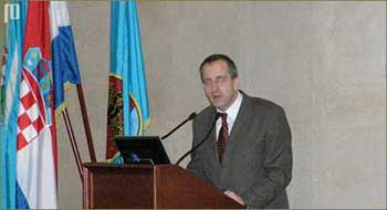 Na kraju, kao poseban gost prof. dr.sc. Irvin Lukežić održao je predavanje na temu 'Plemstvo riječkog zaleđa'