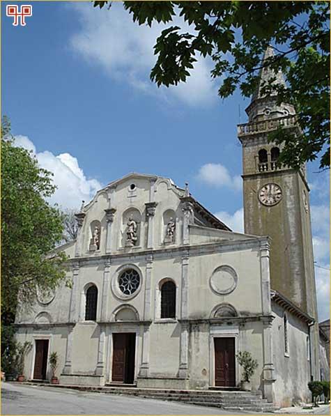 Župna crkva sv. Mihovila u Žminju