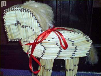 Trojanski konj od šibica (Alex Zadravec)