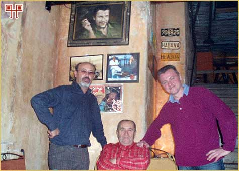 Velikani od gore prema dolje pa na desno: Che, Mire, Nikola i Ivan