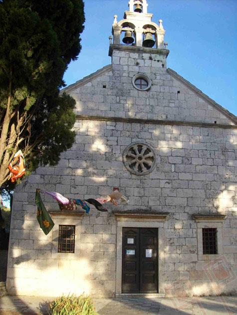 Župna crkva na otoku Žiriju, snimio autor