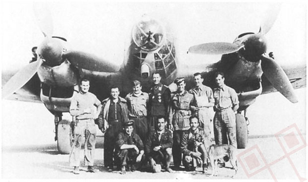 Ekipa nakon akcije: Wichmann, Dettmann, Blaich, Sanseverino, Bohnsack i Geisler
