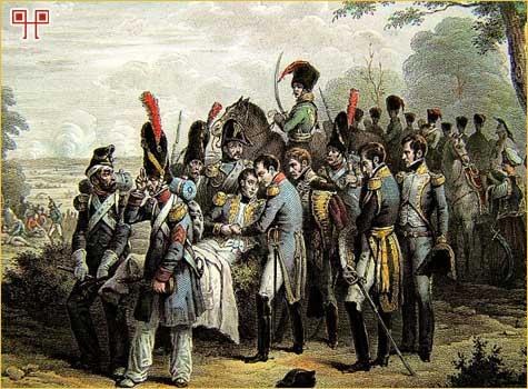 Maršal Lannes nakon bitke kod Aspern- Esslinga