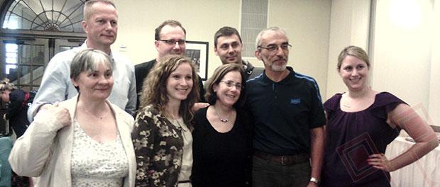 Dio polaznika ljetne škole JFR - u prvom redu stoji Zrinka Racić (druga s lijeva) pokraj Stanlee Stahl i Matija Lucić (treći s lijeva iza)