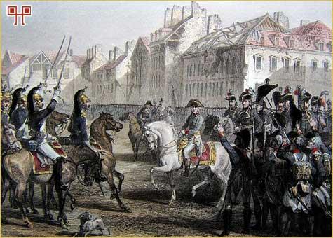 Napoleonove postrojbe odlaze u Egipat. (Jean Lannes je također sudjelovao u pohodu)