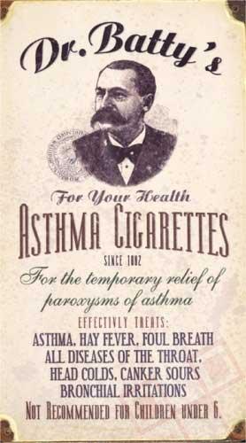 Astma cigarete za vaše zdravlje!