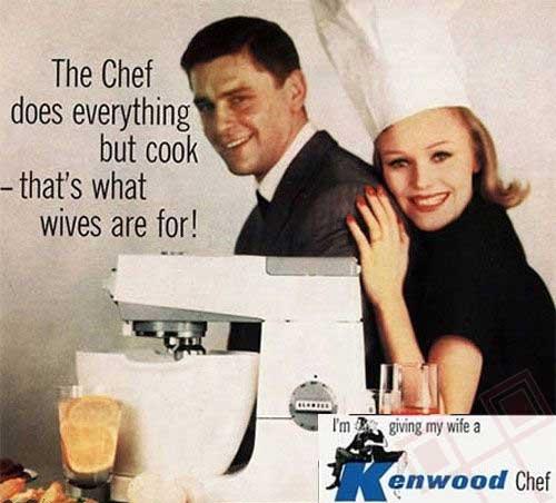 Šef radi sve osim kuhanja - za to su tu žene!
