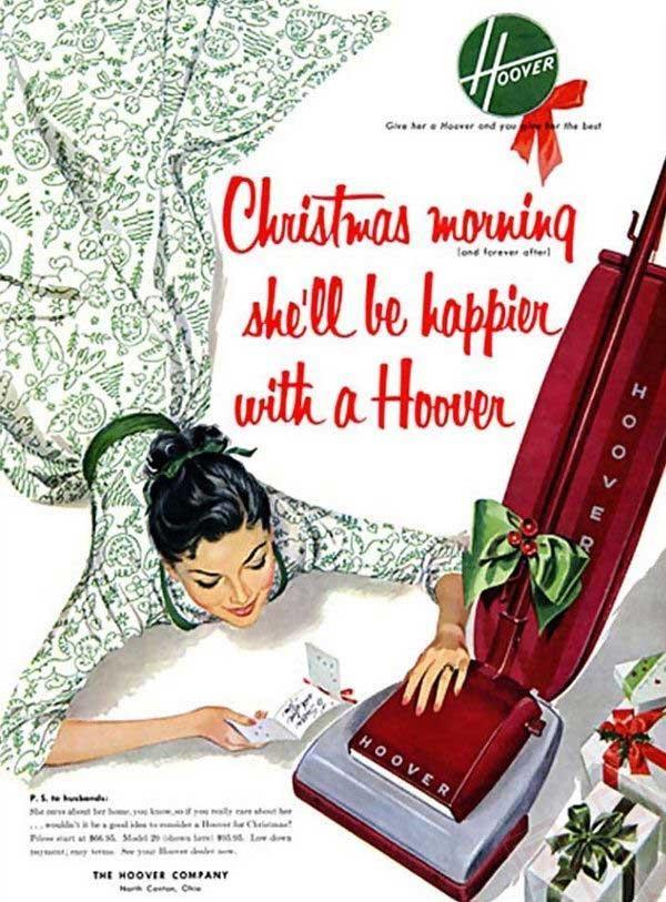 Na božićno jutro biti će sretnija uz Hoover!