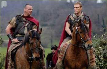 Glavni protagonisti - legionar Tit Pulon i centurion Lucije Voren