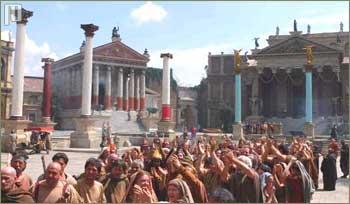 Odlično je prikazn stari Rim i svakodnevni život