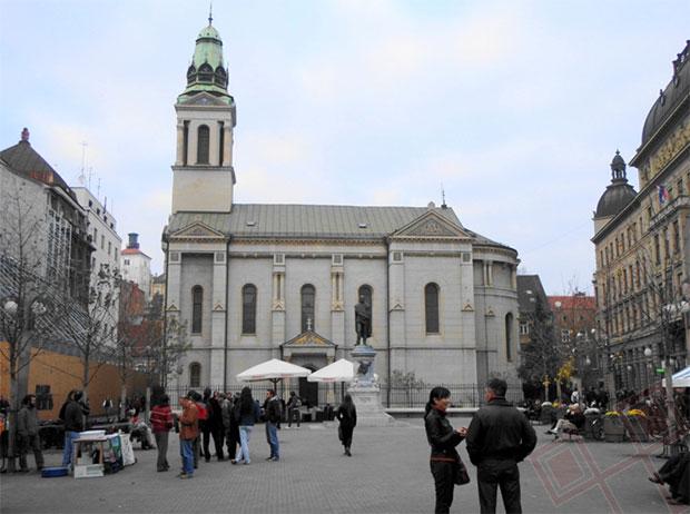 Crkva sv. Preobraženja u Zagrebu