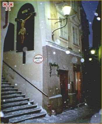 Kuća u kojoj je u Salzburgu rođen Joseph Mohr (1792-1848)
