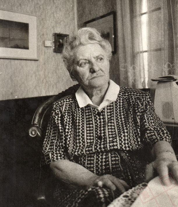 Marija Vrbetić, fotografirana vjerojatno 1988. g.
