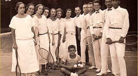 Teniski klub u Ludbregu, Blažica šesta s lijeva