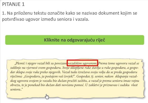 Vježbanje analize teksta?