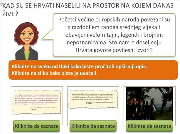 Dobro izvedena mapa seobe Hrvata
