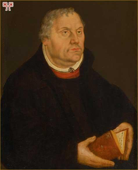 Lutherov portret nastao nakon njegove smrti (oko 1580.g. naslikao Lucas Cranach der Jungere)