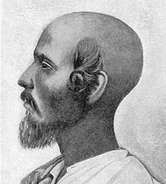 Crni Židov iz Kočina koji sa strane lica ima peyes