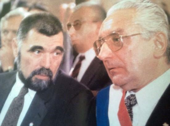 Prilog 13 – Stjepan Mesić i Franjo Tuđman 30. svibnja 1990. godine, preuzeto iz: Radelić, Zdenko, Hrvatska u Jugoslaviji 1945.-1991. (od zajedništva do razlaza), Školska knjiga, Zagreb 2006.