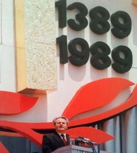Prilog 5 – Milošević na Gazimestanu, preuzeto iz: Radelić, Zdenko, Hrvatska u Jugoslaviji 1945.-1991. (od zajedništva do razlaza), Školska knjiga, Zagreb 2006.