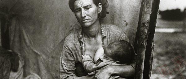 Majka migrantica (Dorothea Lange, 1936.)