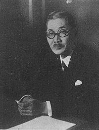 Šigenori Togo, japanski ministar vanjskih poslova.