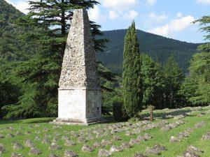 Austrougarsko vojno groblje kraj Solkana u Sloveniji