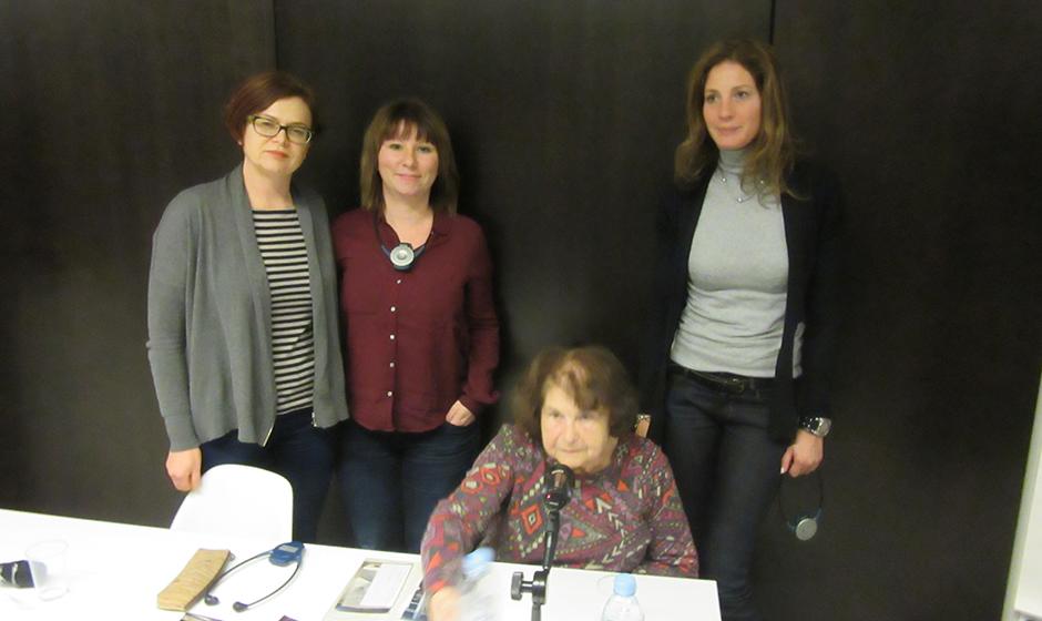 Sudionice edukacije s preživjelom Idom Grinspan