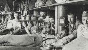 Baraka za ratne zarobljenike u Irkutsku, 1916.