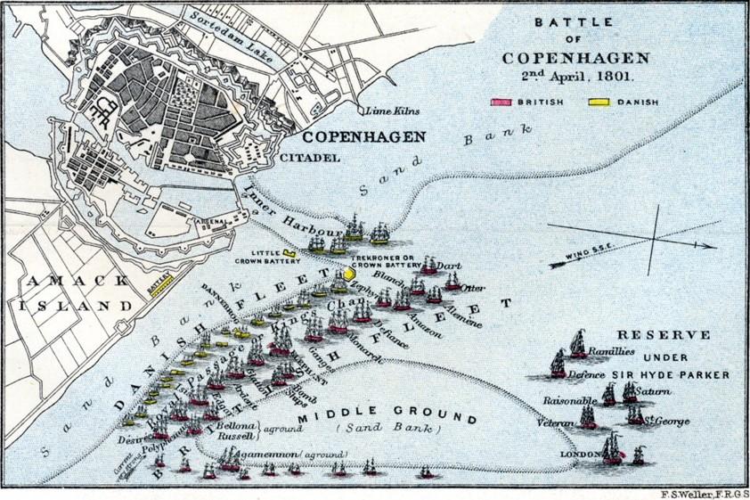 Bitka za Copenhagen (Kent History Forum)