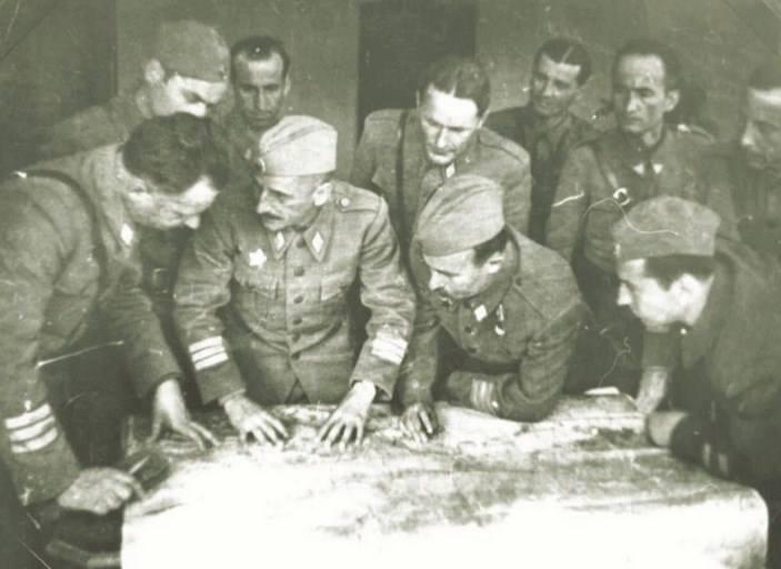 Štab II Jugoslavenske armije, travanj 1945. - pripreme za oslobođenje Zagreba