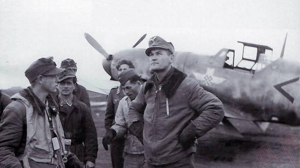 Mato Dukovac - jedan od prvih instruktora sirijskih zračnih snaga
